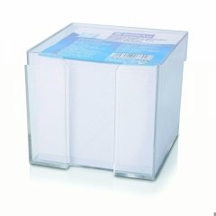Pojemnik na karteczki DONAU + wkład biały